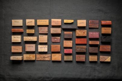Echantillons de bois